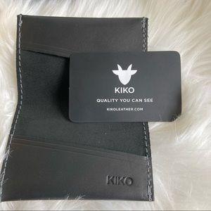 KIKO LEATHER SLIM CARD CASE